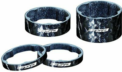 """Fahrrad Carbon Spacer Schwarz A-head 1-1//8/"""" Zoll Carbonspacer 5//10//15//20 GY 1X"""