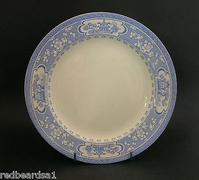 China Replacement Maling Vintage Dinner Plate Blue Oriental Theme AF c1920s