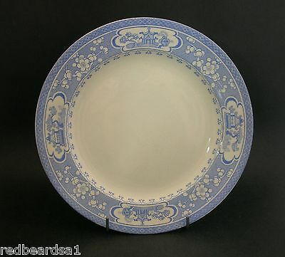 China Replacements Maling Vintage Dinner Plate Blue Oriental Theme AF c1920s