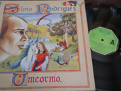 "SILVIO RODRIGUEZ - Unicornio, LP 12"" SPAIN 1982"