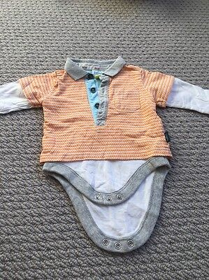 baker by ted baker boys Long Sleeve Top 0-3 Months. Bn