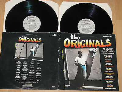 2xLP THE ORIGINALS 32 ALL-TIME CLASSIC GREATS - MOTOWN  SUPREMES - MARTHA REEVES