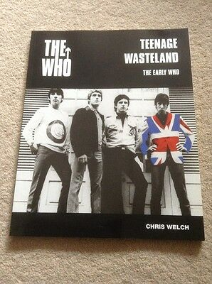 THE WHO Teenage Wasteland  128 page Large Paperback GREAT Condition Free Uk Post