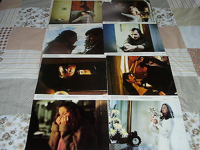 He Knows You're Alone Set Of 8 Us Lobby Cards 1980's Horror Excellent Condition
