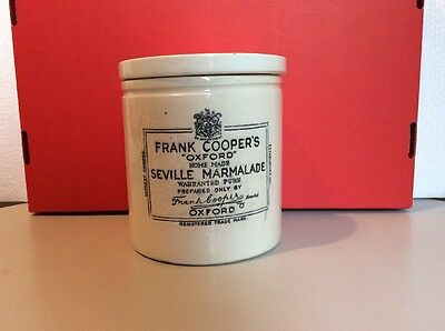 Frank Coopers Oxford Marmalade Vintage Jar Newcastle