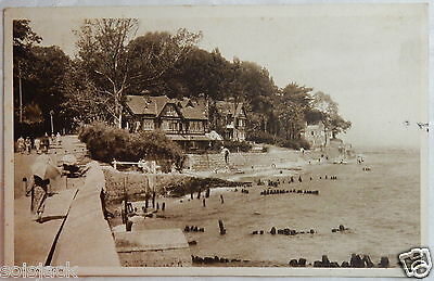 ANTIQUE 1939 POSTCARD - SEAVIEW - ISLE OF WIGHT By WALTER SCOTT