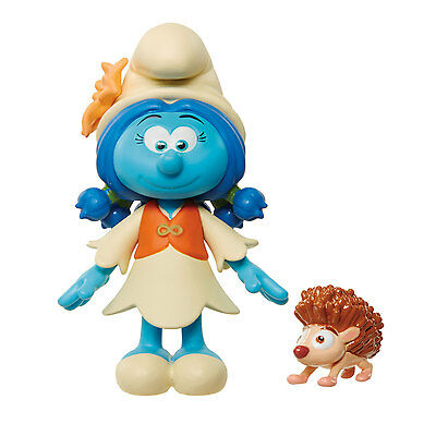 Smurfs The Lost Village Blind Bag Mini Figure - Smurflily and Cooper