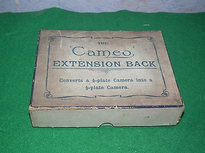 The Cameo Extension Back Half Plate Converter