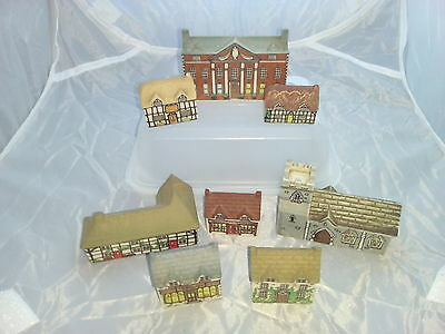 (869) Wade Whimsey On Why Model Village # Complete Set One 1980-81