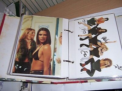 Spice Girls official postcards full ser 120 - 1997 in photo album with index