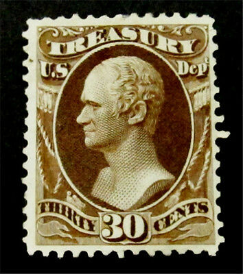 nystamps US Official Stamp # O81 Mint with Gum H $400