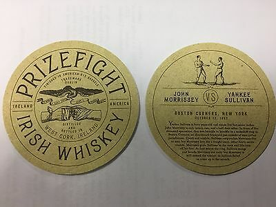 New - Prizefighter Irish Whiskey Beer Mat Sous Bock
