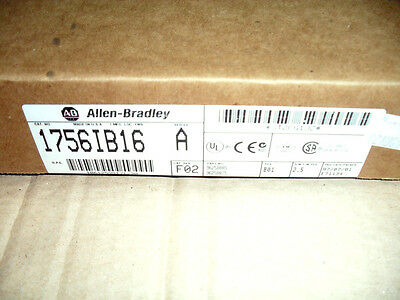 Allen Bradley Controllogix 1756Ib16 Input Module Unused Boxed Factory Sealed