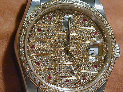 The gold / diamond watch of Mr. Deng Xiaoping , GENTS