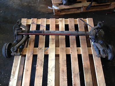 Peugeot 206 Rear Axle With Drum No Abs 2002