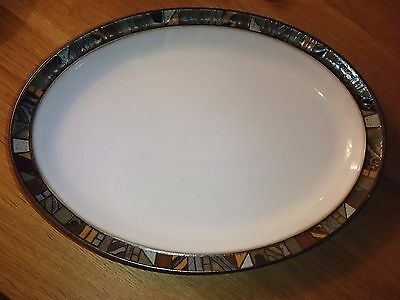 "DENBY MARRAKESH OVAL SERVING DISH PLATTER 13"" x 9½"" FIRST QUALITY"