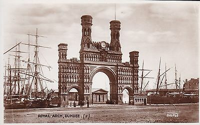 Dundee - Royal Arch - Real Photo By Valentines