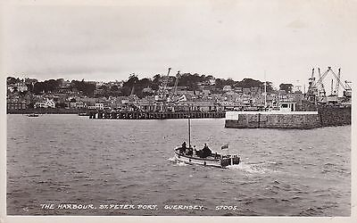 Guernsey - St Peter Port, The Harbour - Real Photo 1969