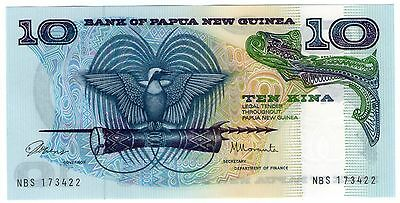 **   PAPOUASIE - Nlle GUINEE     10  kina   1985   p-7    UNC   **