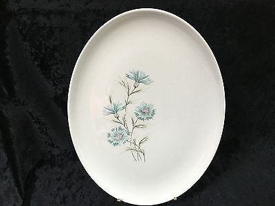 Taylor Smith & Taylor Forever Yours BOUTONNIERE Oval Serving Platter