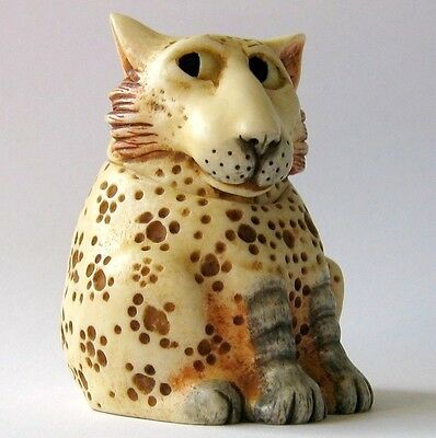 Martin Perry: Pot Bellys - Small Castaways Kitten / Cat Box Figurine Felix, BNIB