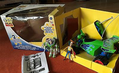 Boxed Disney Pixar Toy Story Buzz & Woody Remote Controlled Car but NOT WORKING