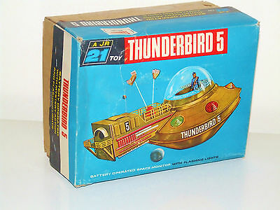 JR21 THUNDERBIRD 5 1965 Boxed J. Rosenthal JR 21