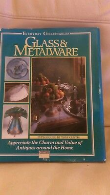 Glass and metalware. Collectables book. Tony curtis