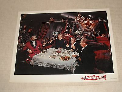 1954 DISNEY 20,000 LEAGUES UNDER the SEA MOVIE LOBBY CARD JAMES MASON ADVENTURE
