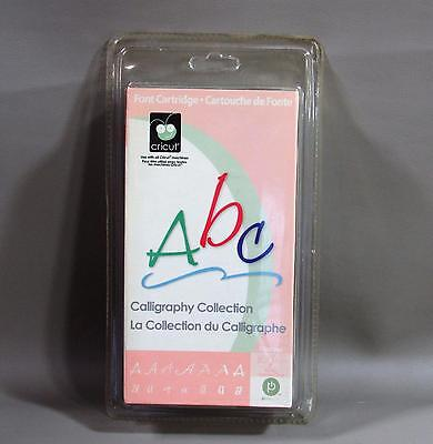 Abc Calligraphy Font Collection Cricut Cartridge - New Sealed