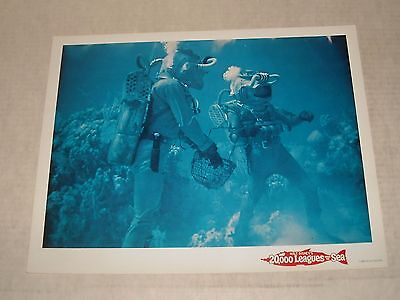 1954 DISNEY 20,000 LEAGUES UNDER the SEA MOVIE LOBBY CARD KIRK DOUGLAS CLASSIC