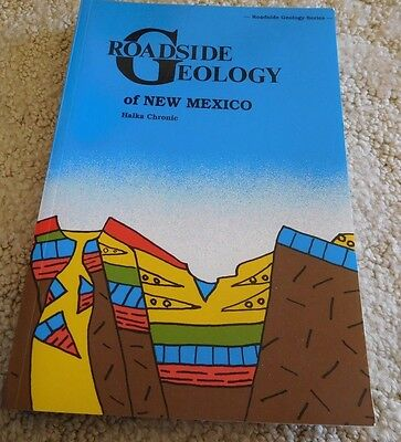 """""""Roadside Geology of New Mexico"""" Book - NEW"""