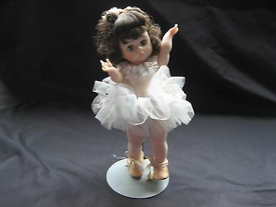 "Madame Alexander BLUE BALLERINA  8""  Displayed, but not played with"
