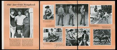 1964 The Beatles 9 photo Our American Scrapbook vintage print article