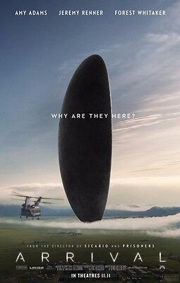 ARRIVAL great original 27x40 movie poster