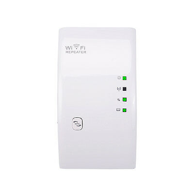 300Mbps Signal Extender Booster Wireless-N AP Range 802.11 Wifi Repeater US Plug