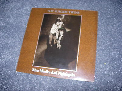 THE SUICIDE TWINS Silver Missiles And Nightingales LP Hanoi Rocks