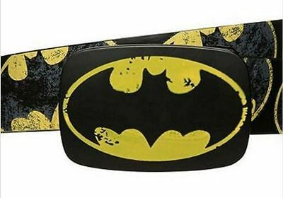 Boys BATMAN belt NEW one size - distressed look APPROX 3-4-5-6-7 years