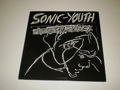 SONIC YOUTH - CONFUSION IS SEX - RARE 1st PRESS LP NEUTRAL RECORDS 1993 U.S.A.
