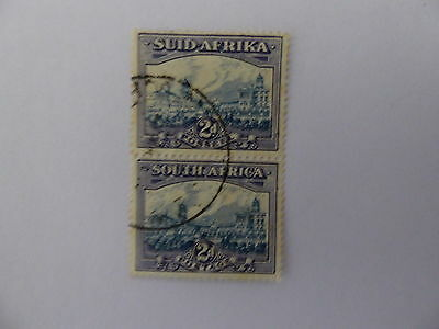 S Africa 1938 2d pair very fine used