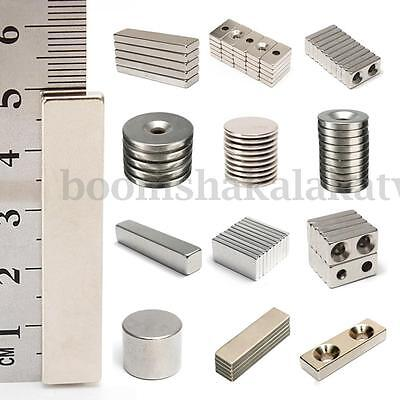 Strong Magnet Rare Earth Neodymium Disc Magnets Grade N35 Circular/Square