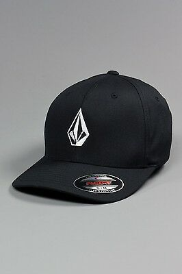 Volcom Full Stone Fabric Flexfit Cap (black)