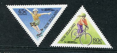 1995 New Zealand Mnh Sg 1884-1885 Health Stamps Commemorative Stamp Set