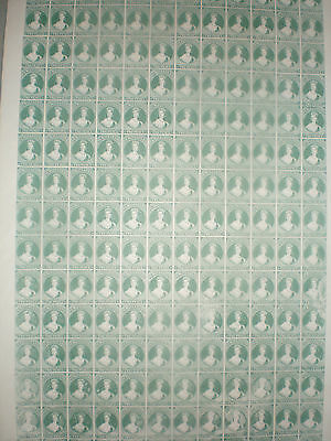#855 New Zealand Chalon 2d sheet reproduction by Arnart complete 240 Ltd Ed.