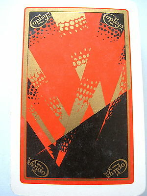 ART DECO COPLEYS SEARCHLIGHTS UNUSUAL GILDED DESIGN VINTAGE PLAYING CARDS 1930s