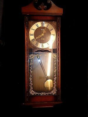 Acctim Wall Clock. Working Order with Key and pendulum  (890)