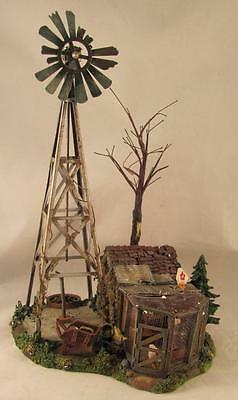 Dept 56 Snow Village Buck's County Windmill by the Chicken Coop #52867