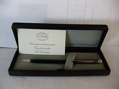 Fashion And More 75 Years 1922-1997 Of C&a Commemorative Pen.in Box With Card