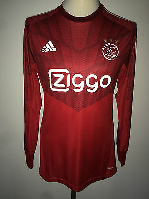 Ajax Match Worn Eredivisie shirt Boer 14/15 Netherlands Holland goalkeeper rare