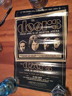 THE DOORS: LIVE IN BOSTON, Promo Poster